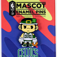 Show Your Team Pride With Kidrobot's New NBA Mascot Enamel Pin Collection