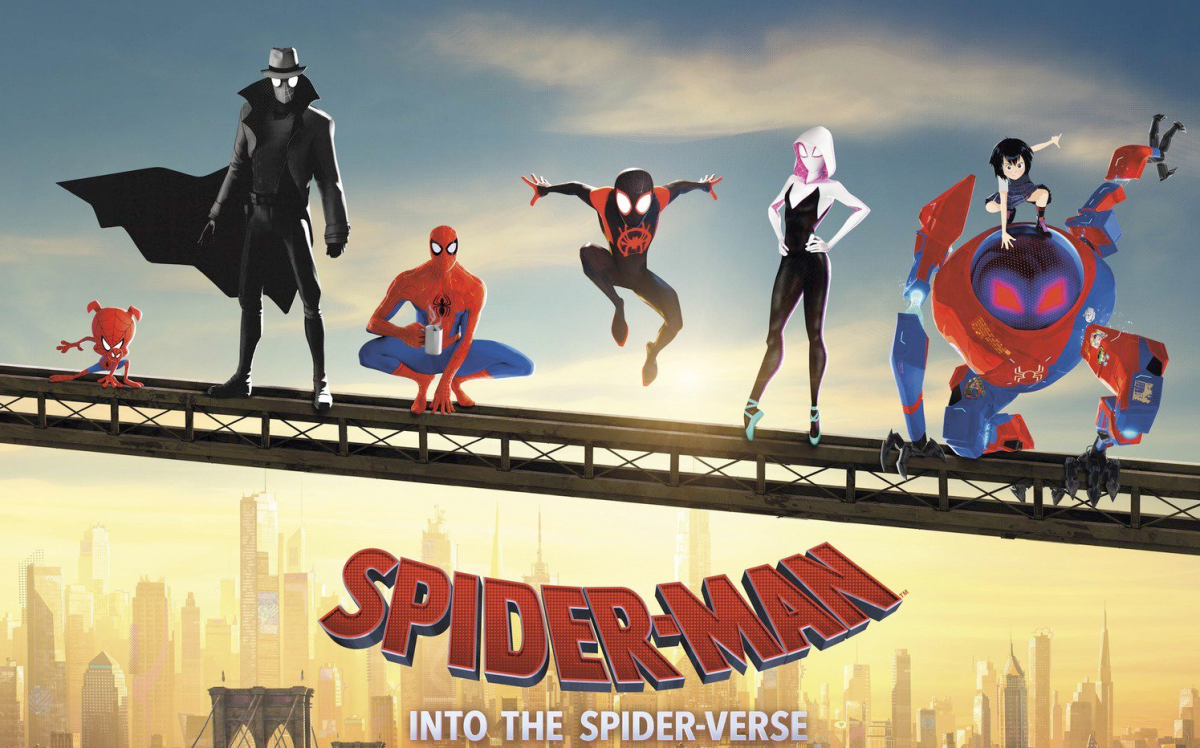 "Sony Releases 6 Sensational Character Posters For Their Upcoming Animated Feature: ""Spider-Man: Into the Spider-verse"""